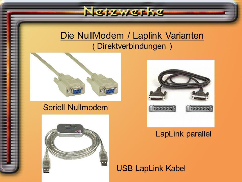 Die NullModem / Laplink Varianten