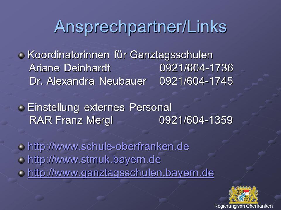 Ansprechpartner/Links