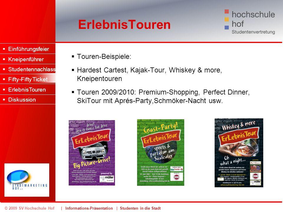 ErlebnisTouren Touren-Beispiele: