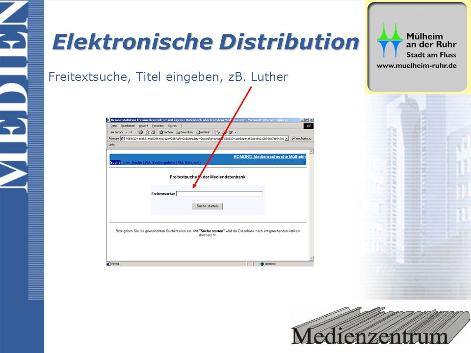 Elektronische Distribution