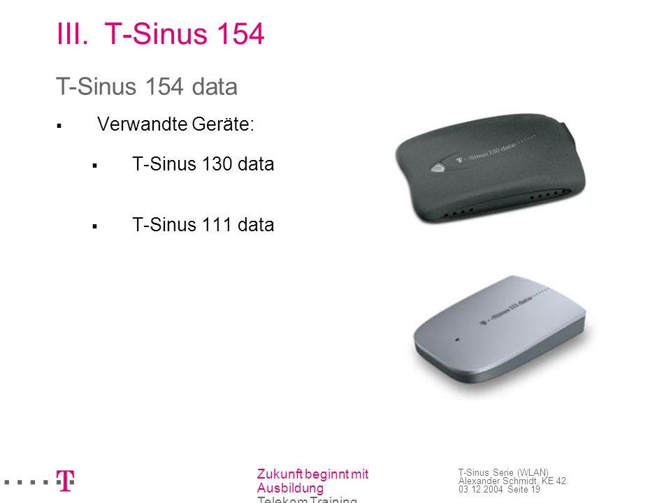 T-Sinus 154 T-Sinus 154 data Verwandte Geräte: T-Sinus 130 data