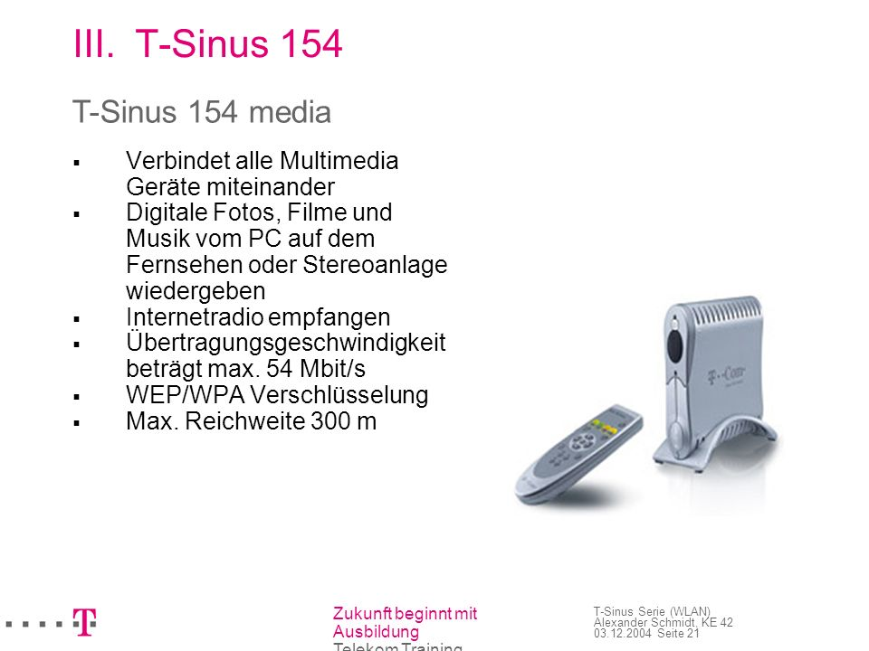 T-Sinus 154 T-Sinus 154 media