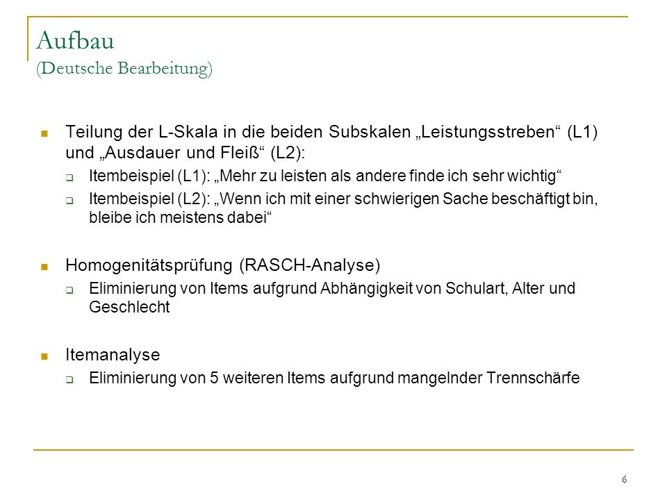 Aufbau (Deutsche Bearbeitung)