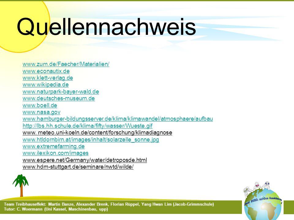 Quellennachweis www.zum.de/Faecher/Materialien/ www.econautix.de