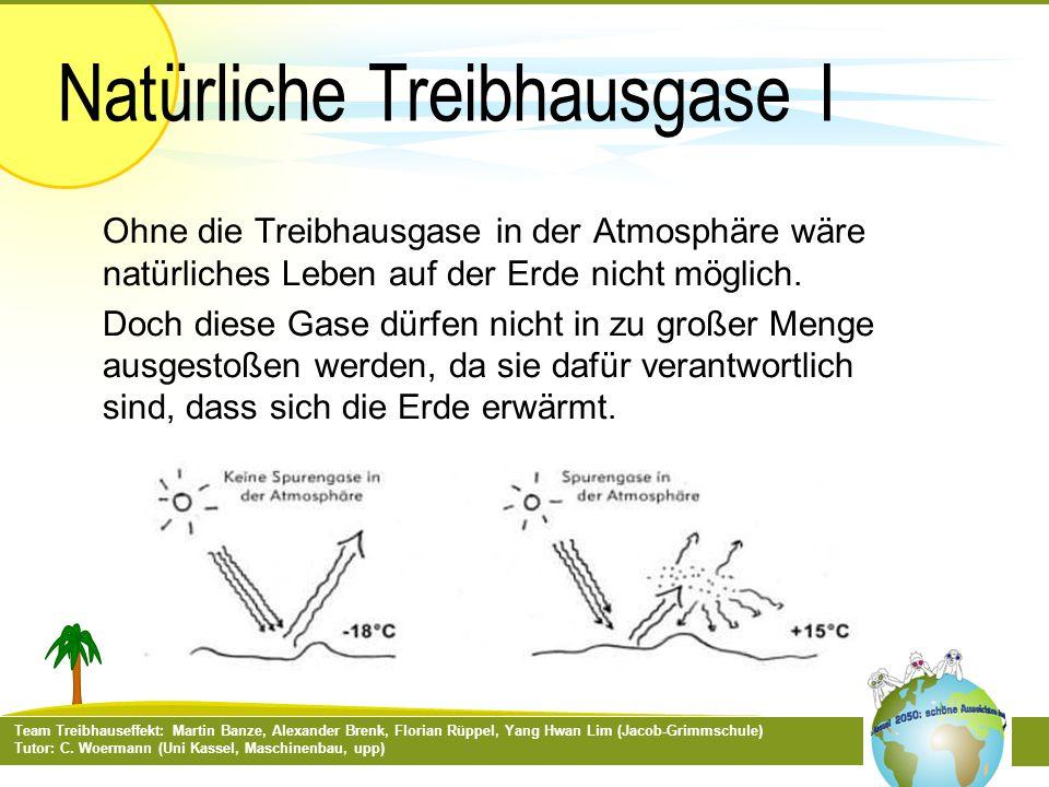 Natürliche Treibhausgase I