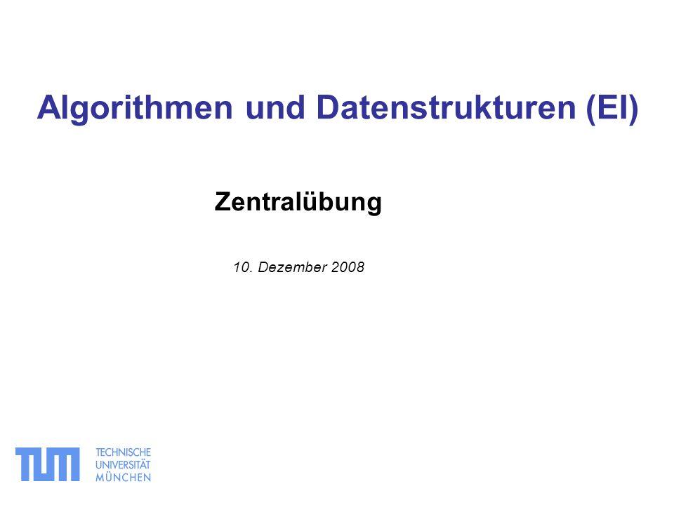 Algorithmen und Datenstrukturen (EI)