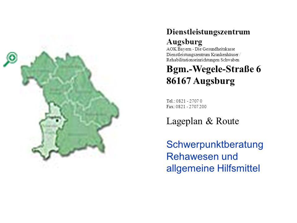 Dienstleistungszentrum Augsburg