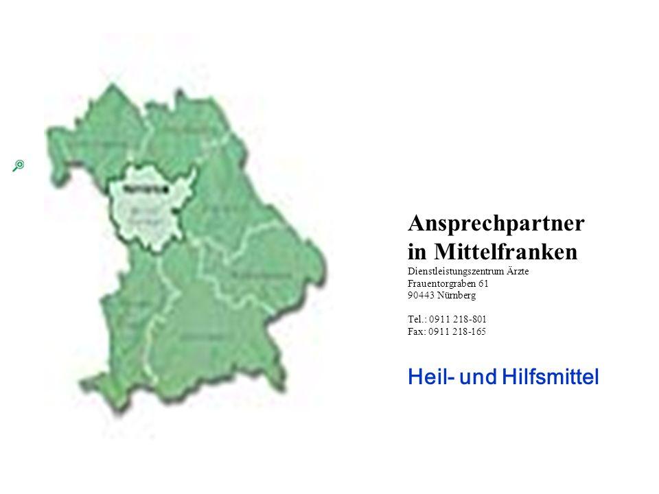 Ihr Ansprechpartner in Mittelfranken
