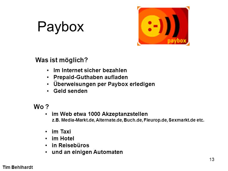 Paybox Was ist möglich Wo Im Internet sicher bezahlen