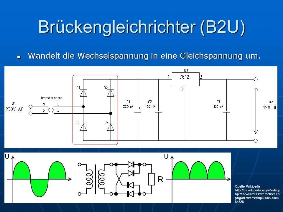 Brückengleichrichter (B2U)