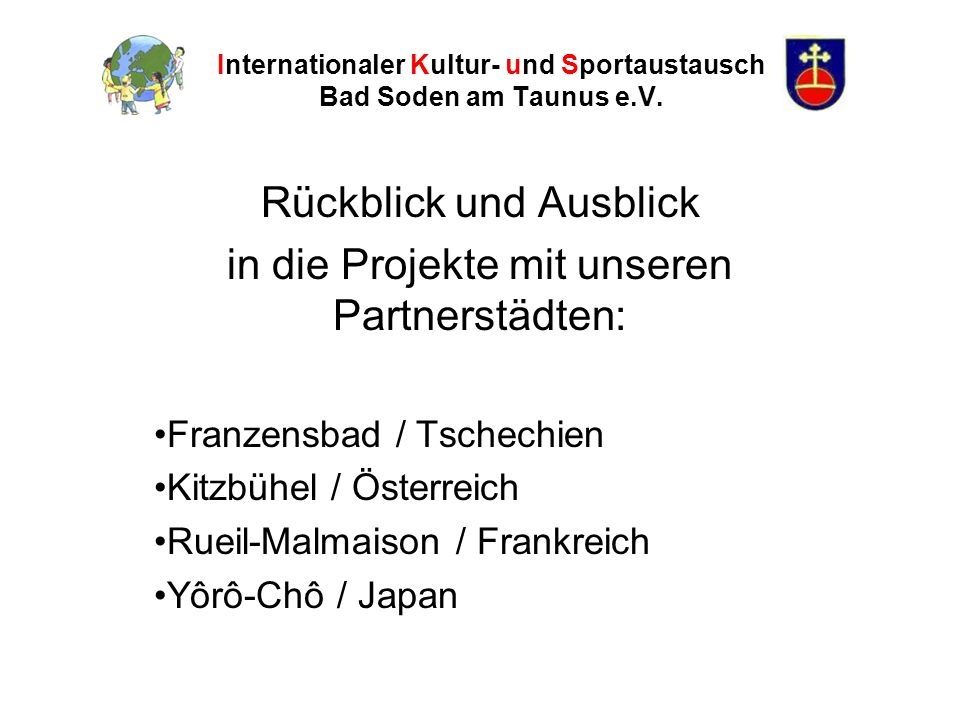 Internationaler Kultur- und Sportaustausch Bad Soden am Taunus e.V.