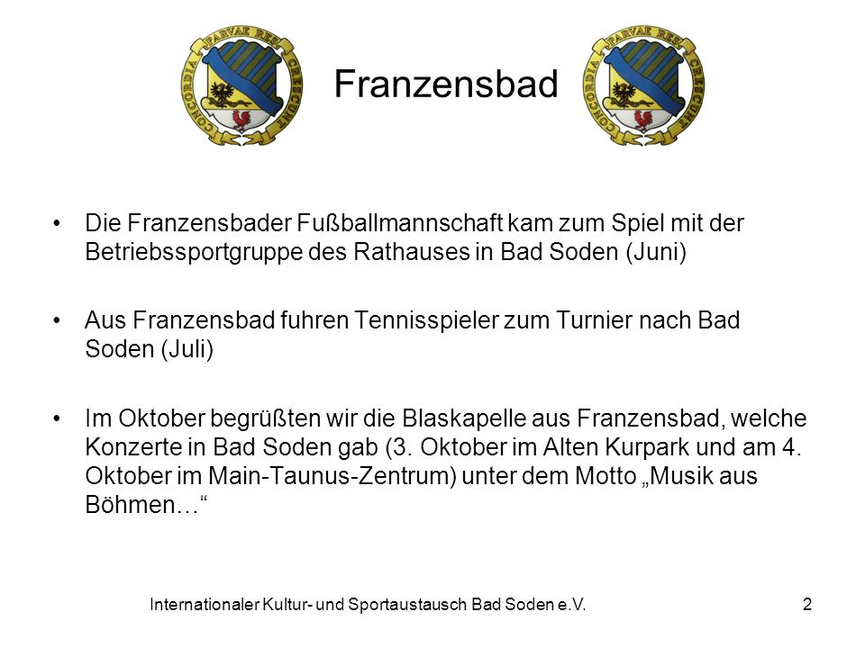 Internationaler Kultur- und Sportaustausch Bad Soden e.V.