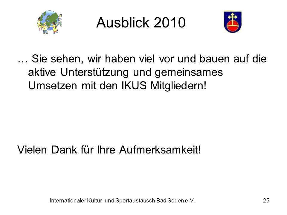 Internationaler Kultur- und Sportaustausch Bad Soden e.V.