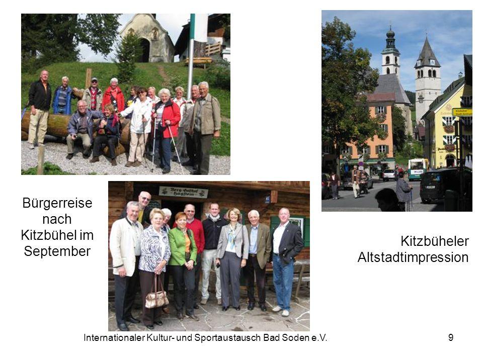 Bürgerreise nach Kitzbühel im September