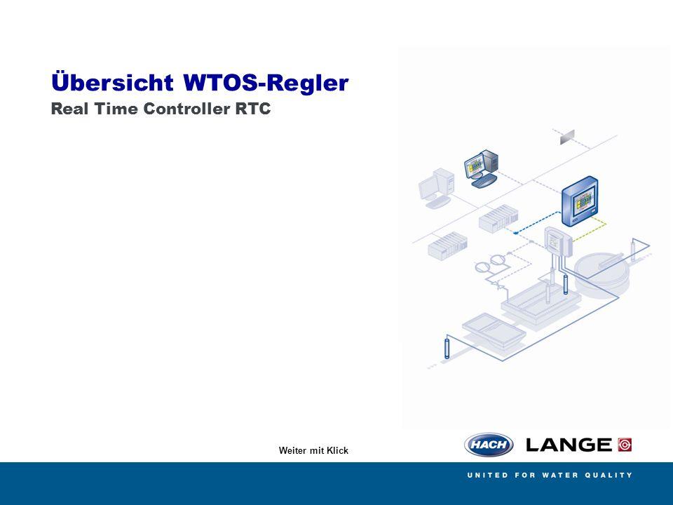 Übersicht WTOS-Regler