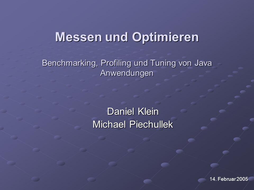 Daniel Klein Michael Piechullek
