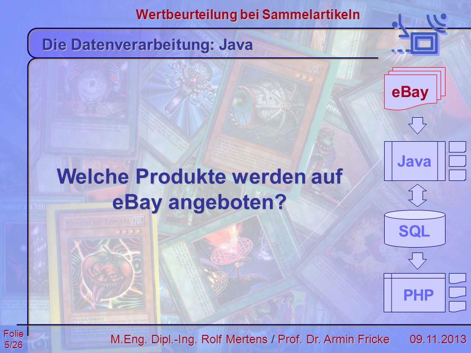 Welche Produkte werden auf eBay angeboten