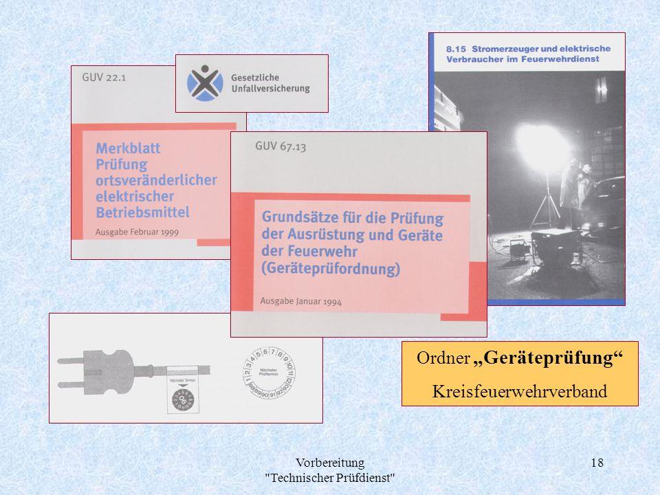 "Ordner ""Geräteprüfung Kreisfeuerwehrverband"