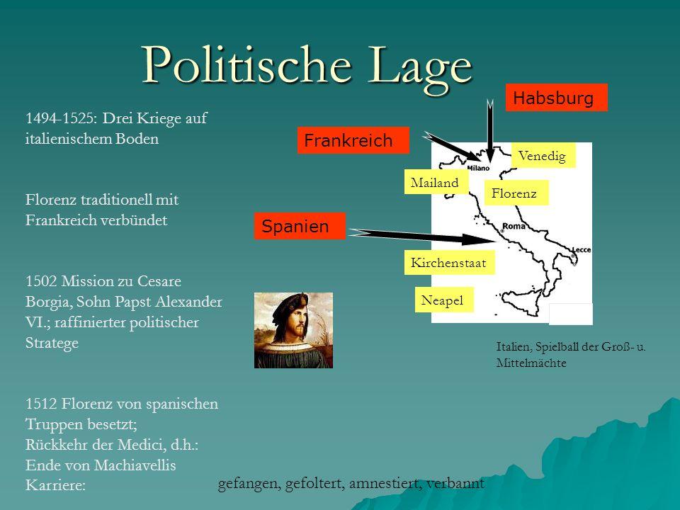Politische Lage Habsburg