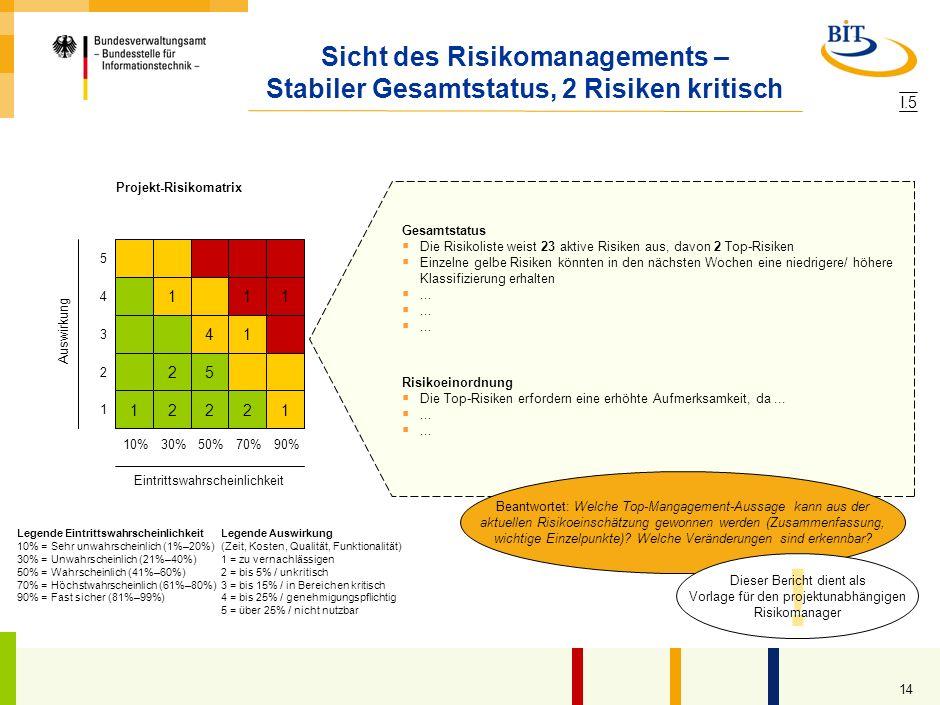 Projekt-Risikomatrix