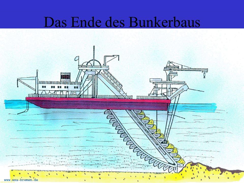 Das Ende des Bunkerbaus