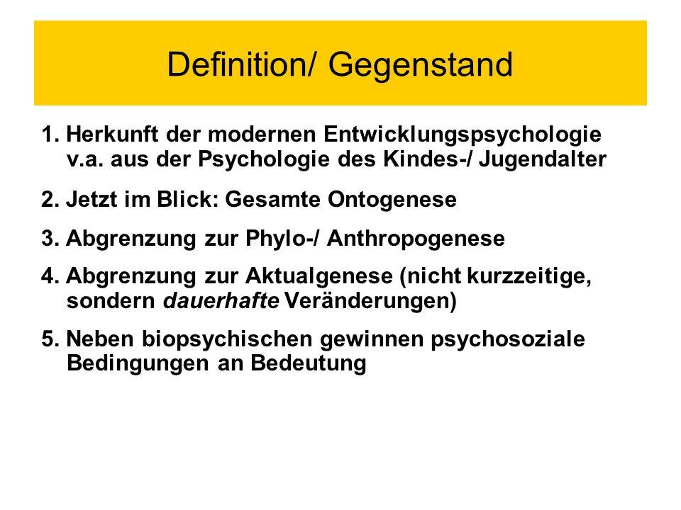 Definition/ Gegenstand