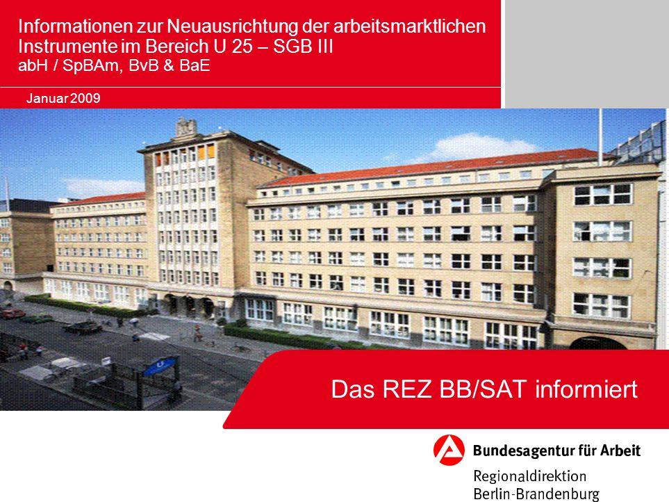 Das REZ BB/SAT informiert