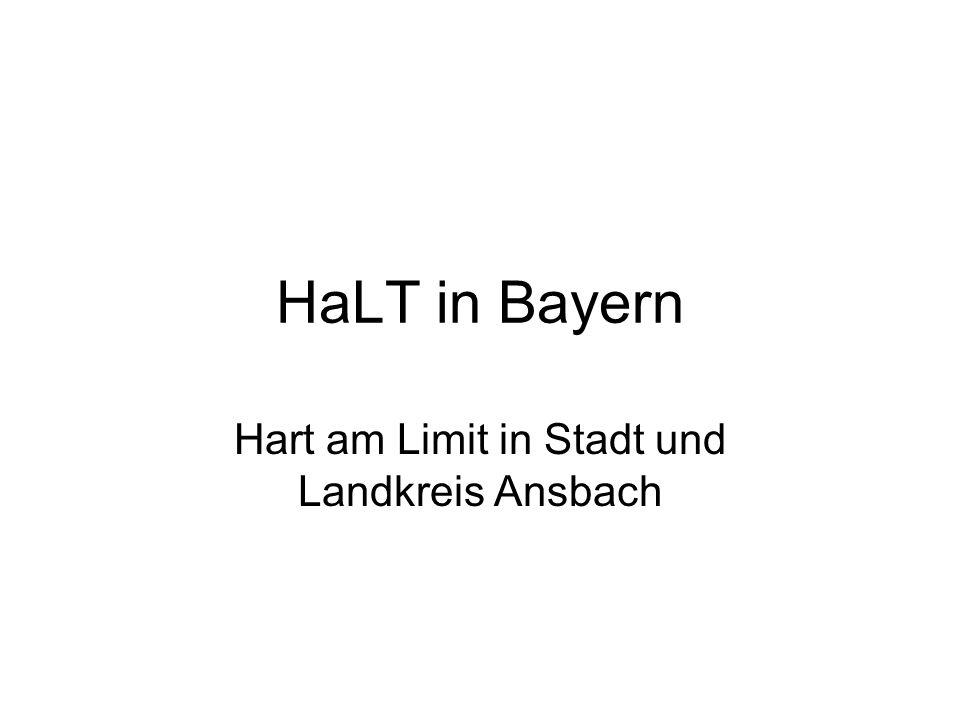 Hart am Limit in Stadt und Landkreis Ansbach