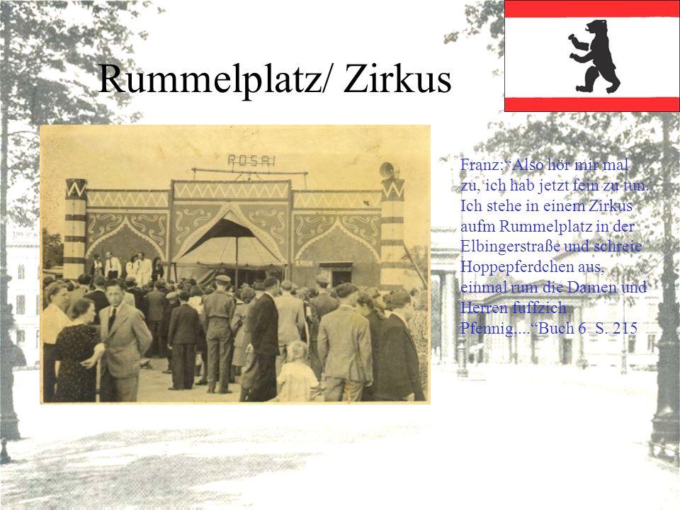 Rummelplatz/ Zirkus