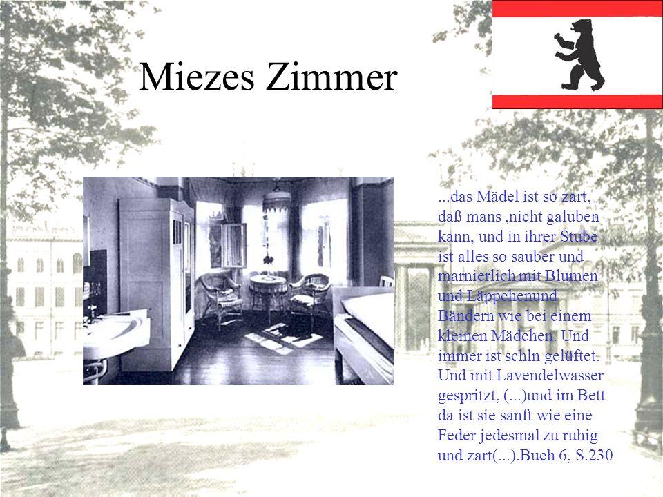 Miezes Zimmer