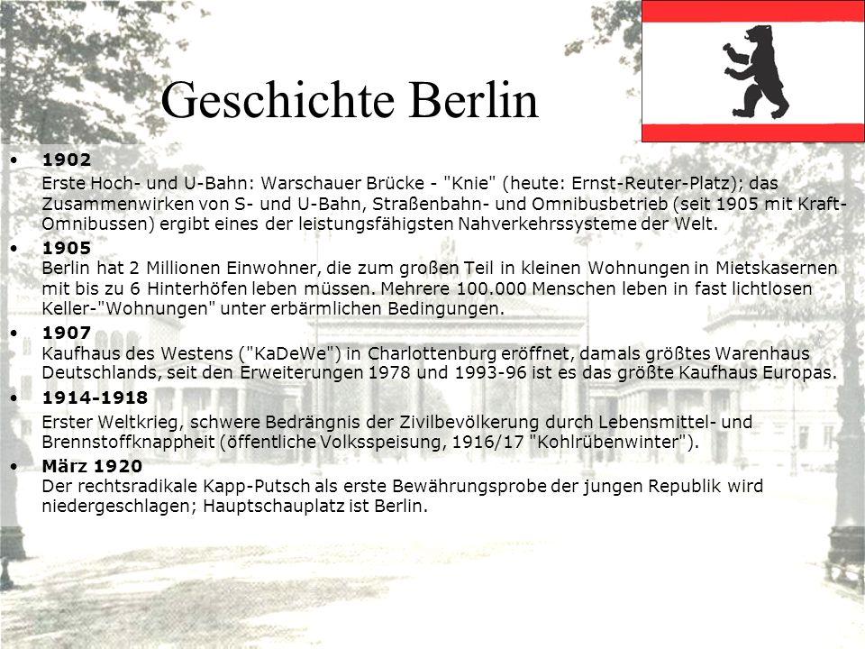 Geschichte Berlin 1902.