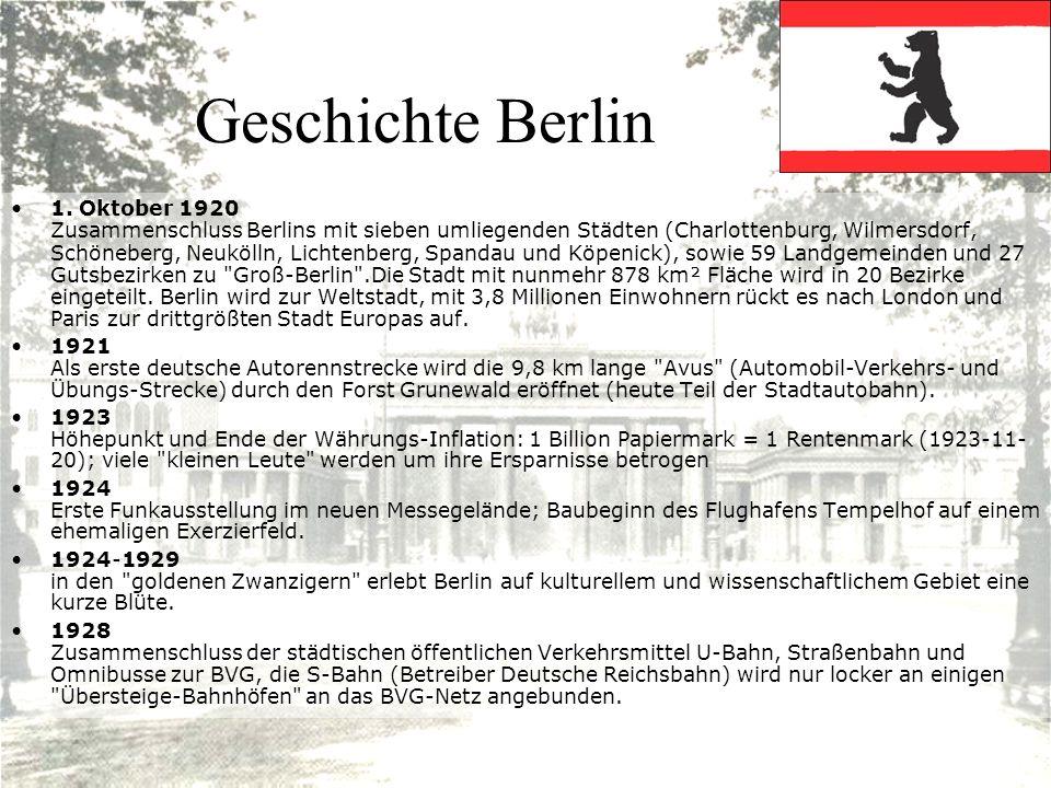 Geschichte Berlin