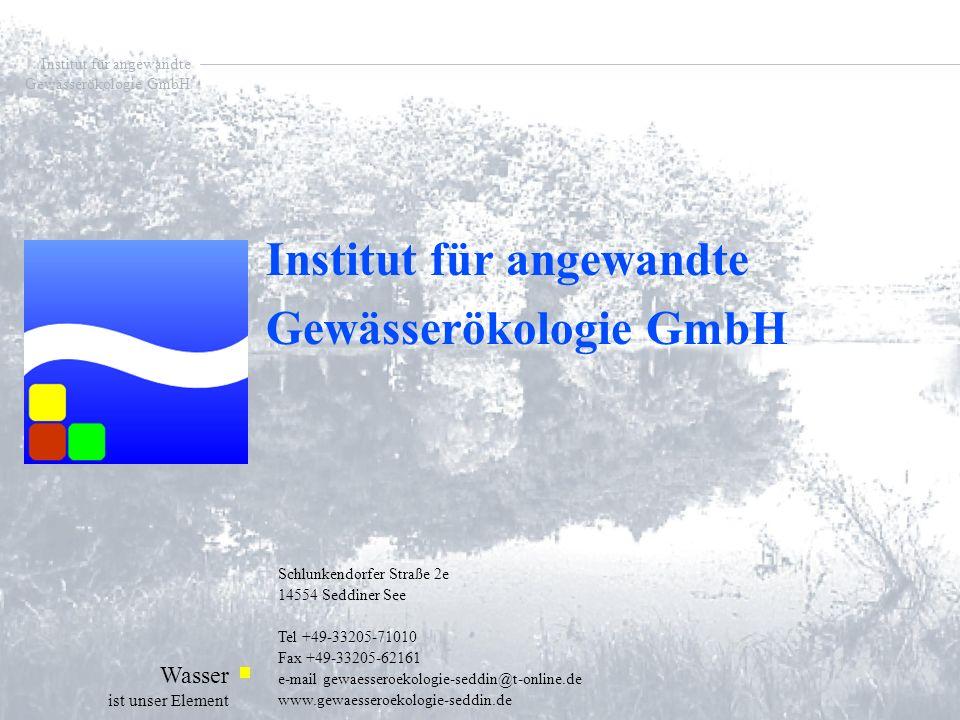 Institut für angewandte Gewässerökologie GmbH