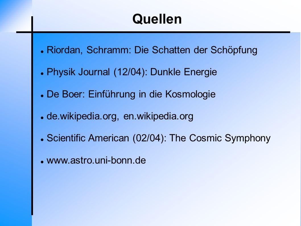 Quellen Riordan, Schramm: Die Schatten der Schöpfung