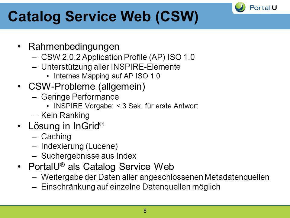 Catalog Service Web (CSW)