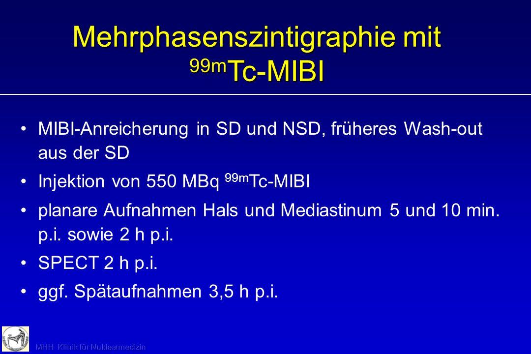Mehrphasenszintigraphie mit 99mTc-MIBI