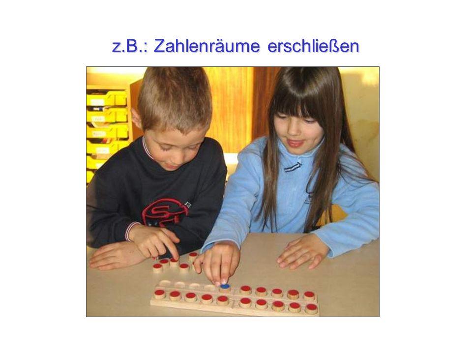 z.B.: Zahlenräume erschließen