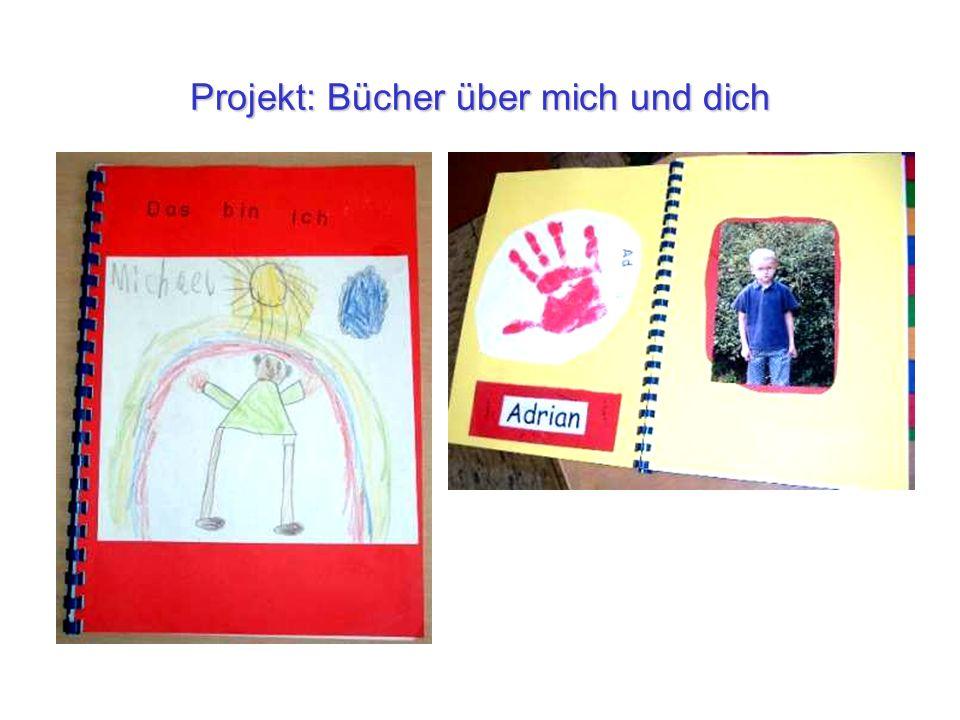 Projekt: Bücher über mich und dich