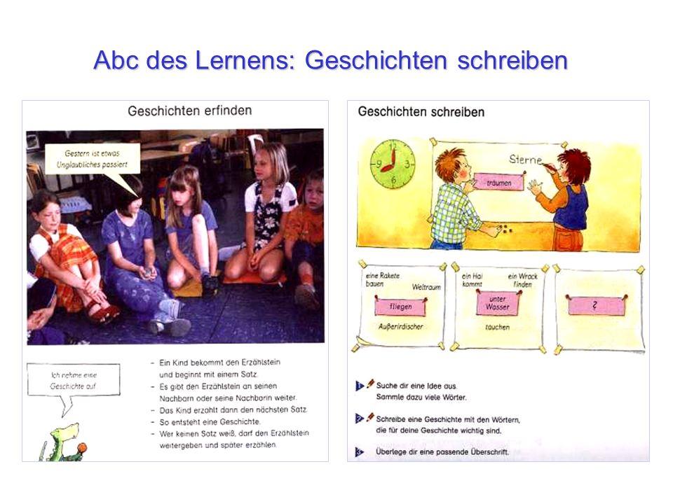 Abc des Lernens: Geschichten schreiben