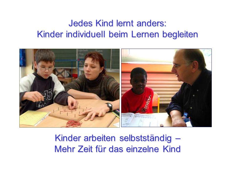 Jedes Kind lernt anders: Kinder individuell beim Lernen begleiten