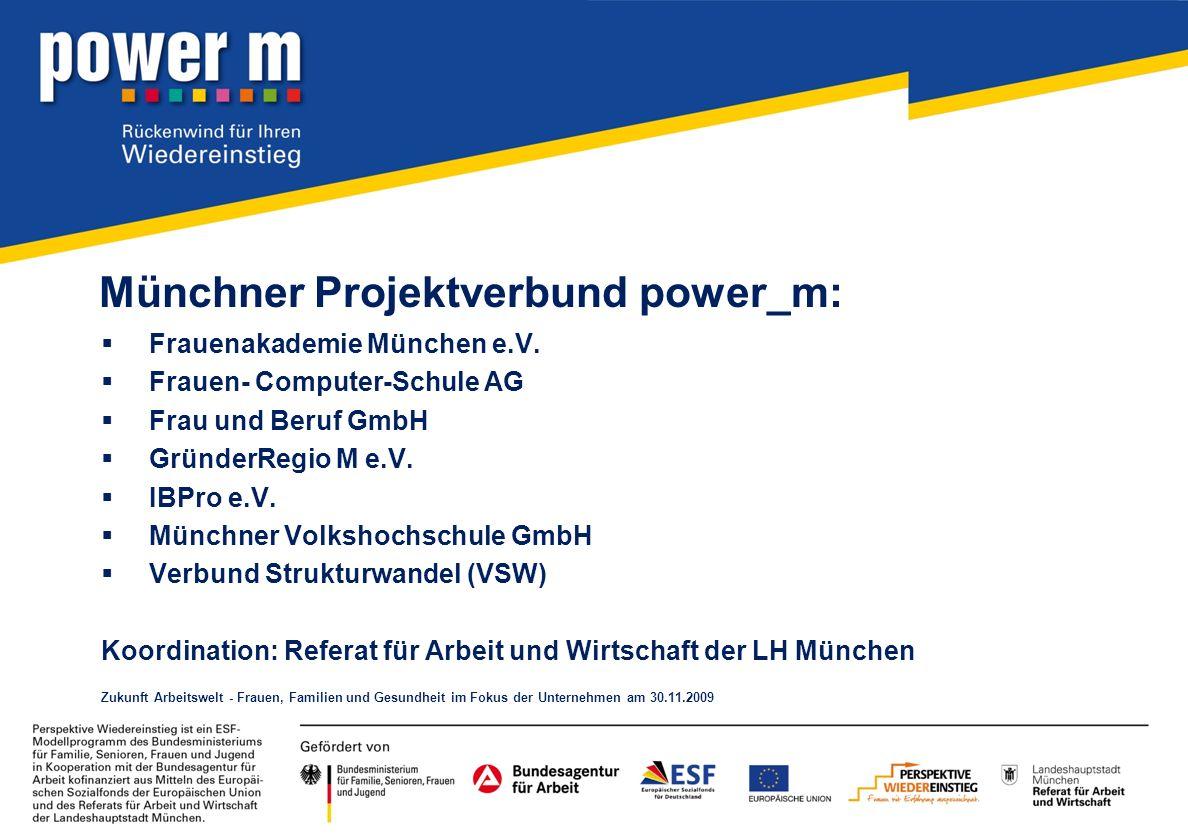 Münchner Projektverbund power_m: