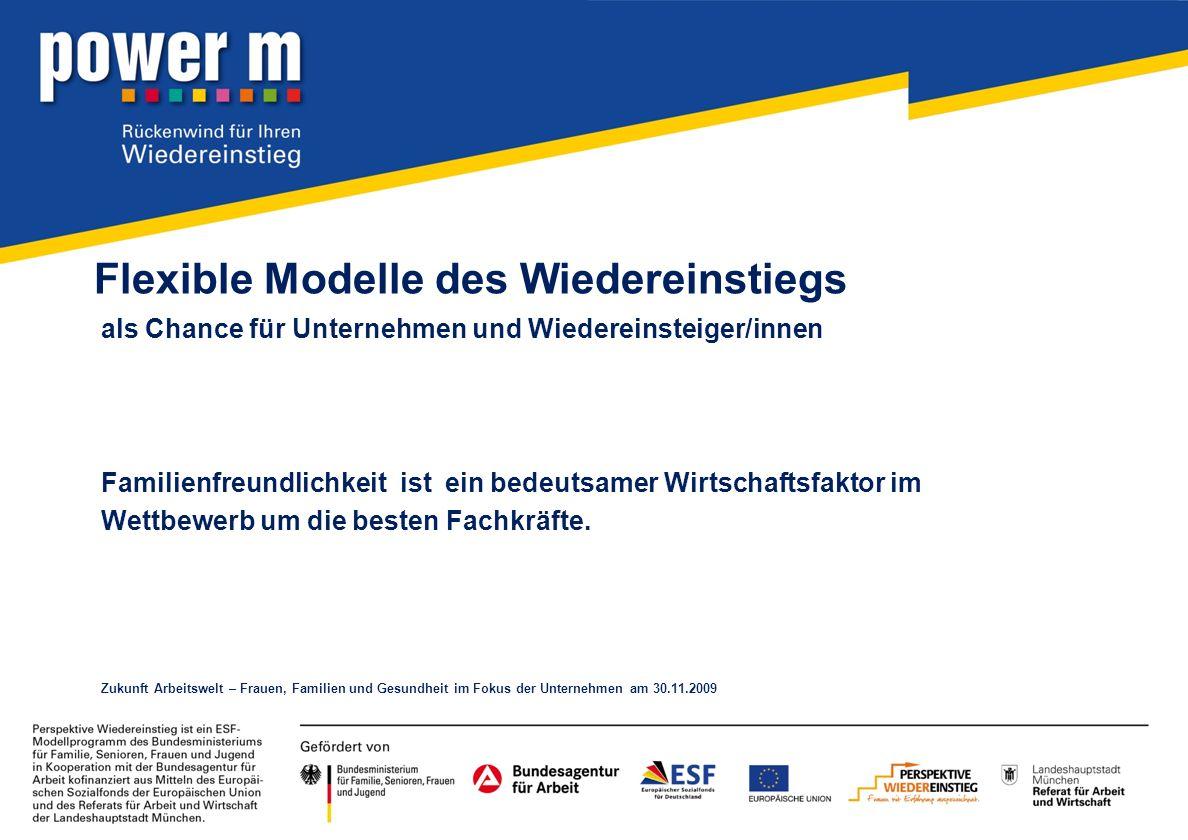 Flexible Modelle des Wiedereinstiegs