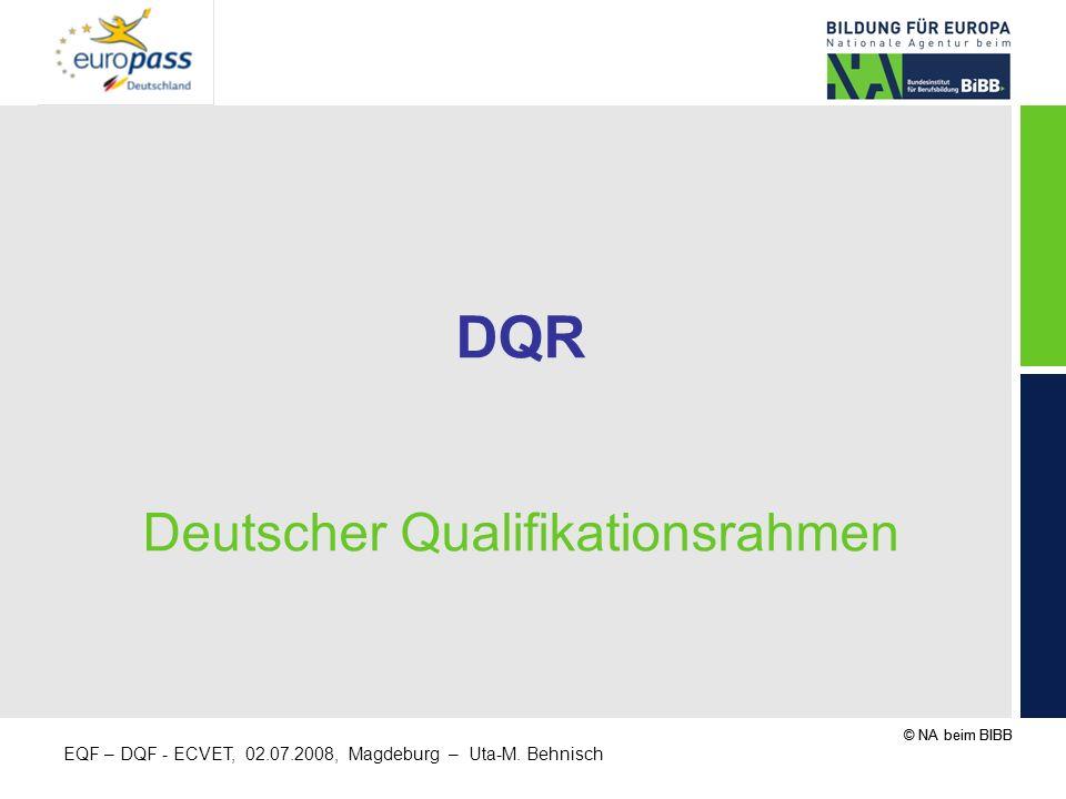 DQR Deutscher Qualifikationsrahmen