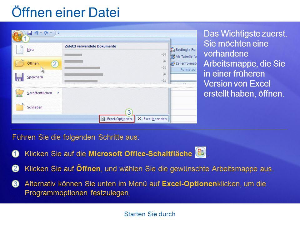 Öffnen einer Datei