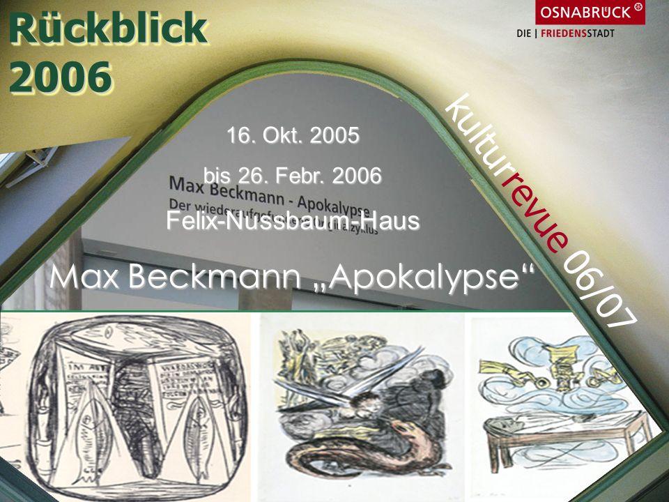 """Max Beckmann """"Apokalypse"""