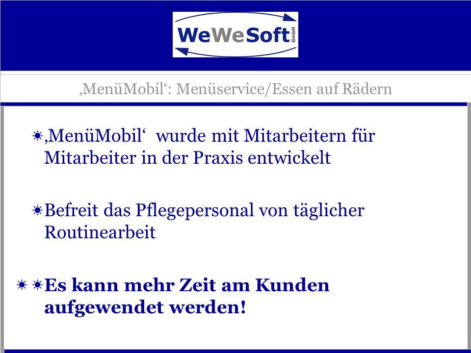 'MenüMobil': Menüservice/Essen auf Rädern