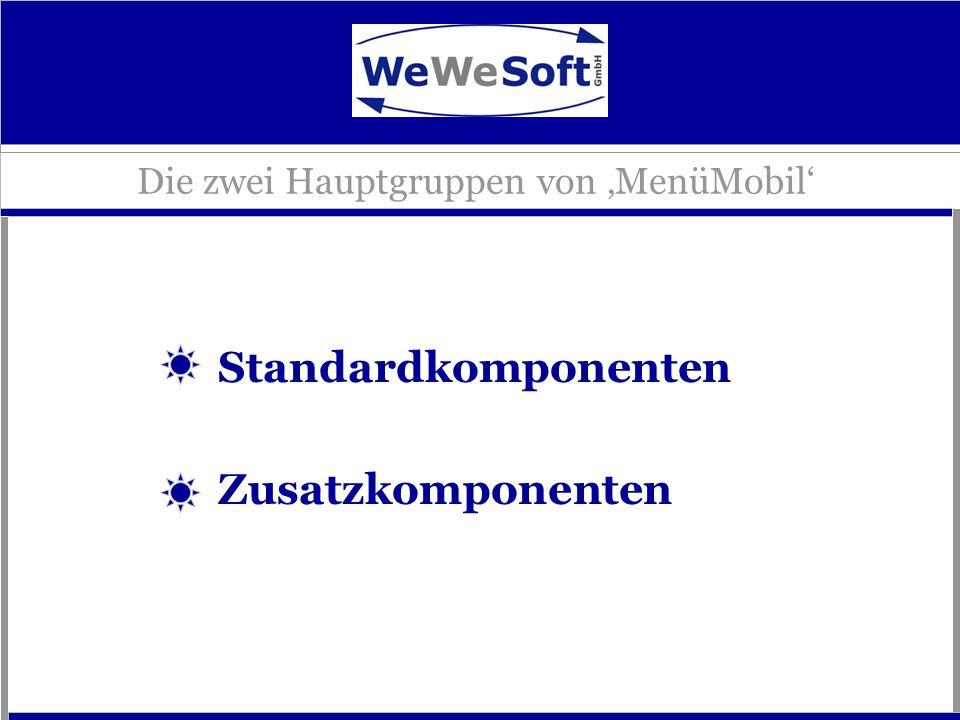 Die zwei Hauptgruppen von 'MenüMobil'