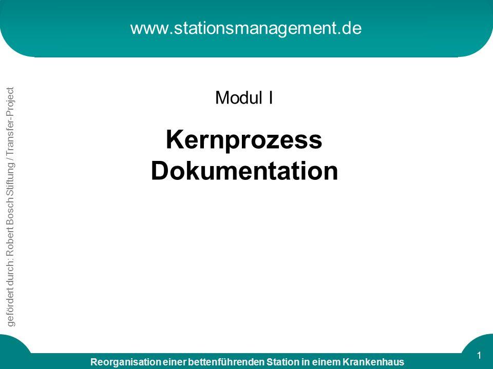 Kernprozess Dokumentation