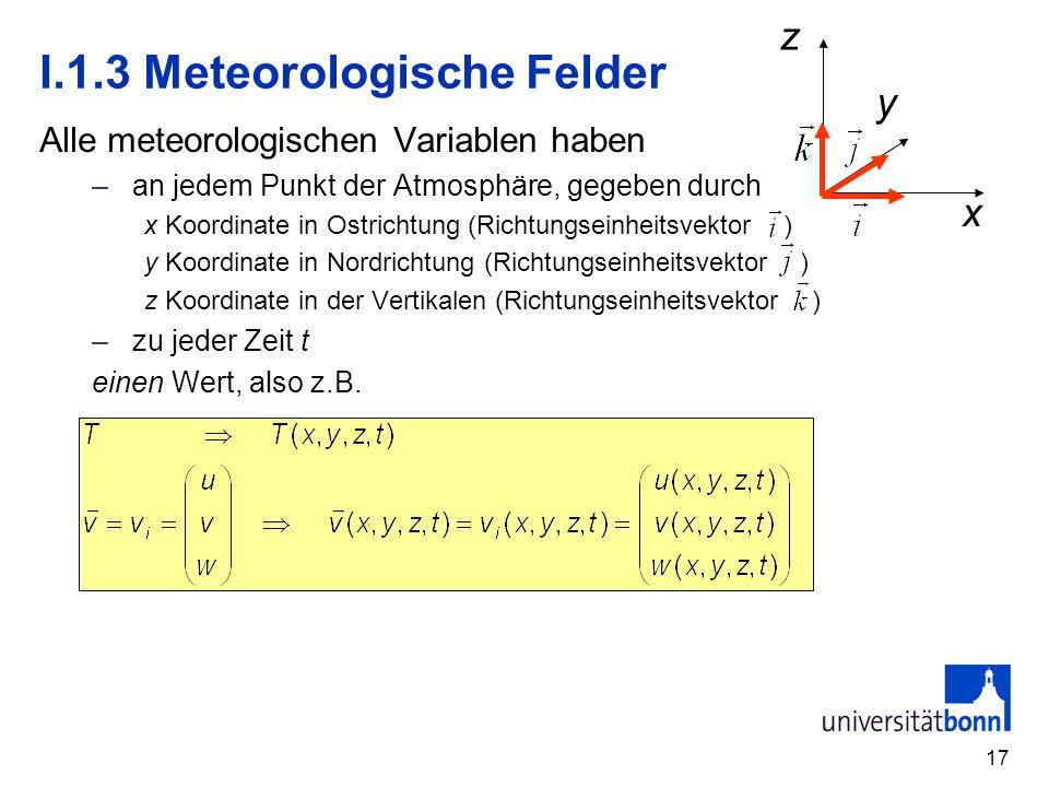 I.1.3 Meteorologische Felder