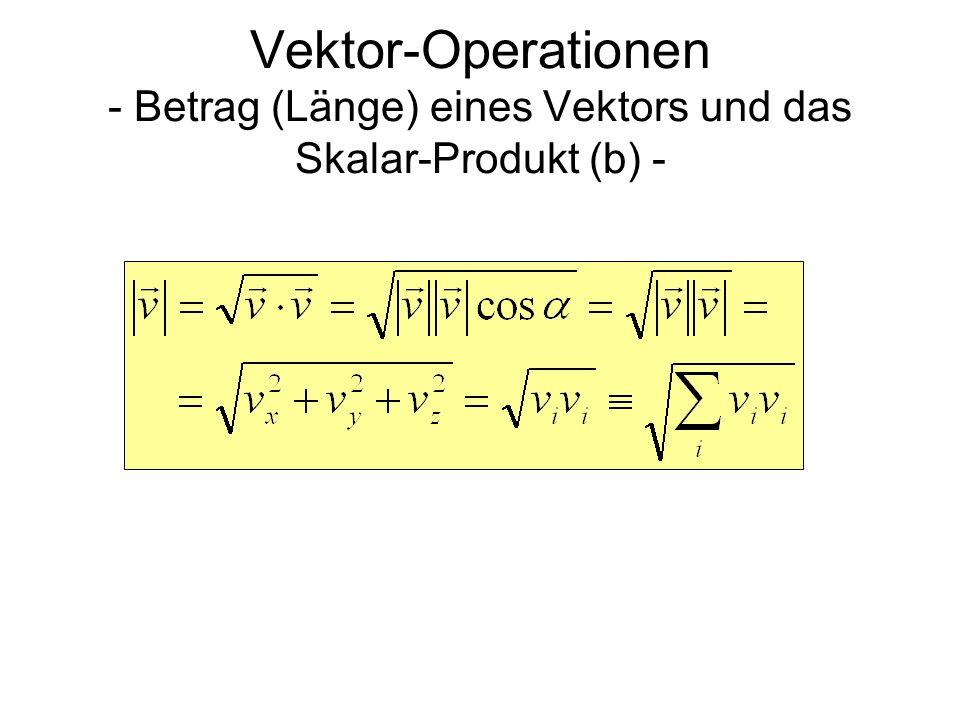 betrag eines vektors berechnen vektorrechnung vektoren. Black Bedroom Furniture Sets. Home Design Ideas
